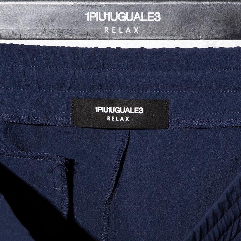 1PIU1UGUALE3 RELAX ウノピゥウノウグァーレトレ リラックス 4WAY ストレッチ ショートパンツ
