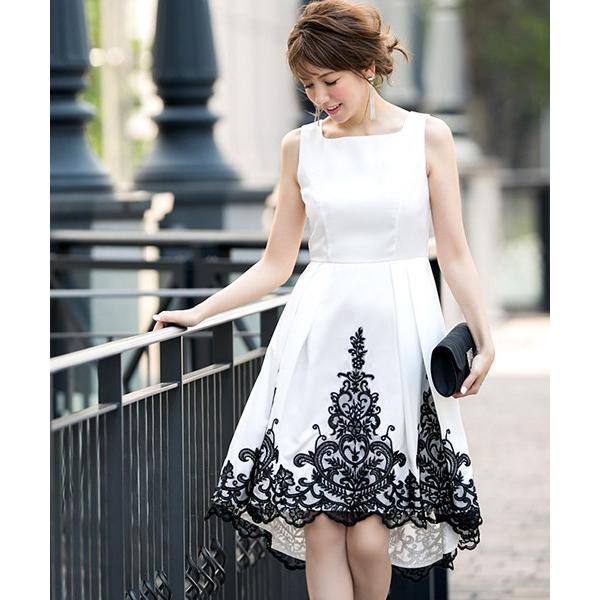 パーティードレス 結婚式 ワンピース モデル美香着用 ドレス 二次会 披露宴 レディース フィッシュテール イレギュラーヘム girl-k 07