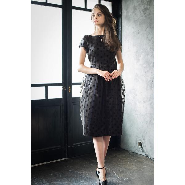 パーティードレス ドレス ワンピース 大きいサイズ 30代 20代 結婚式 ゲストドレス レディース 袖付き 半袖 ミディアム|girl-k|19