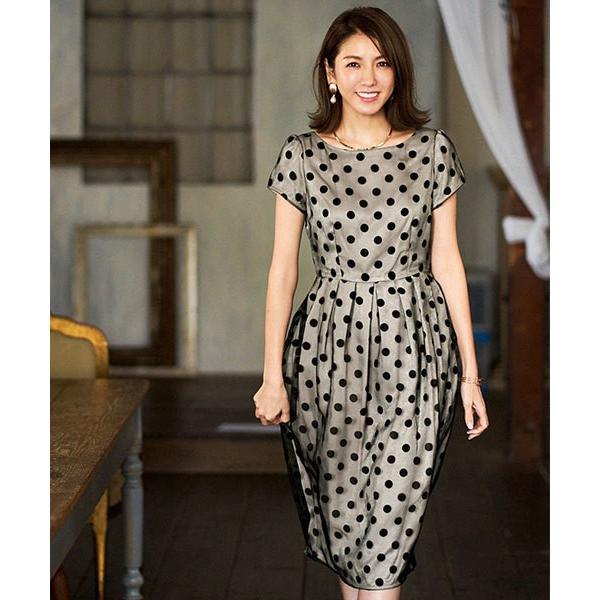 パーティードレス ドレス ワンピース 大きいサイズ 30代 20代 結婚式 ゲストドレス レディース 袖付き 半袖 ミディアム|girl-k|18