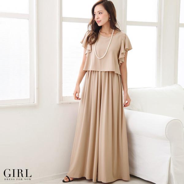 パーティードレス パンツドレス モデル美香着用 ワンピース 結婚式 大きいサイズ オールインワン 二次会 レディース 春|girl-k|07