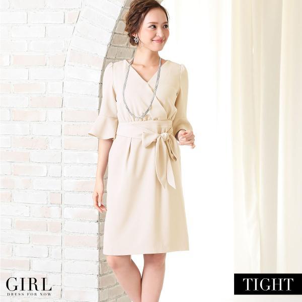 パーティードレス モデル美香着用 ワンピース 結婚式 ドレス ボトムス スカート お呼ばれ 大きいサイズ パーティー|girl-k|07