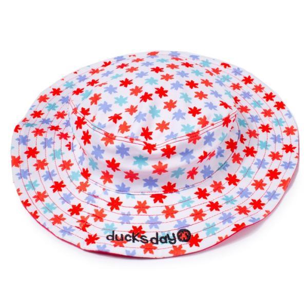 23ae36a28d86d 帽子 キッズ UV ハット 子供 Maching Hat RHA010115 ducksday 男の子 女の子|gita|09