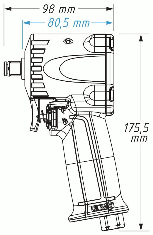 HAZET 9012M-1 サイズ
