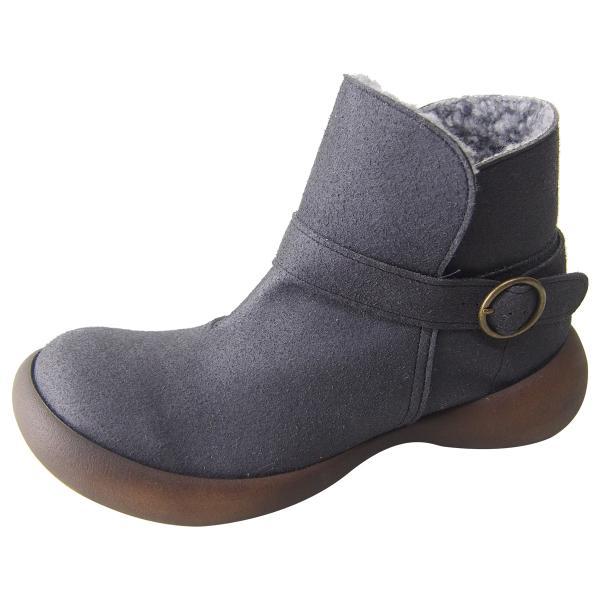 リゲッタ カヌー ブーツ レディース ボア 防滑 ムートン ショートブーツ boots|gjweb|22