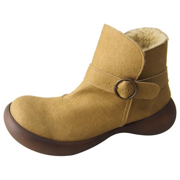 リゲッタ カヌー ブーツ レディース ボア 防滑 ムートン ショートブーツ boots|gjweb|24