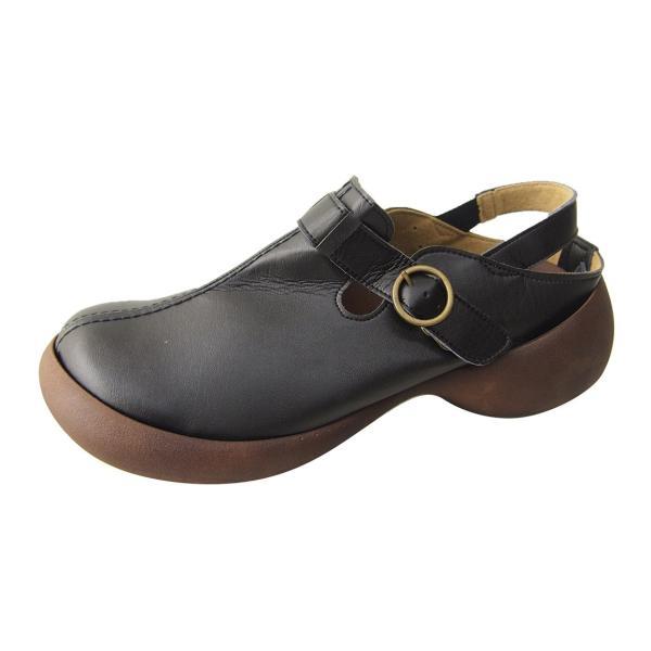 リゲッタカヌー サボ サンダル レディース 厚底 エッグシューズ ストラップ バックル sabot sandal|gjweb|22