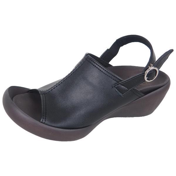 リゲッタカヌー サボ サンダル レディース ウェッジソール おしゃれ ストレッチ sabot sandal gjweb 16