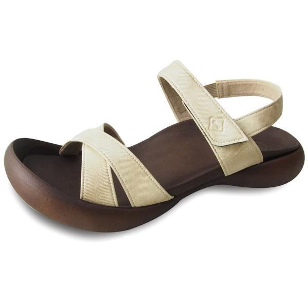 リゲッタカヌー サンダル レディース 履きやすい ぺたんこ おしゃれ デニム 調 ベルクロ sandal|gjweb|12