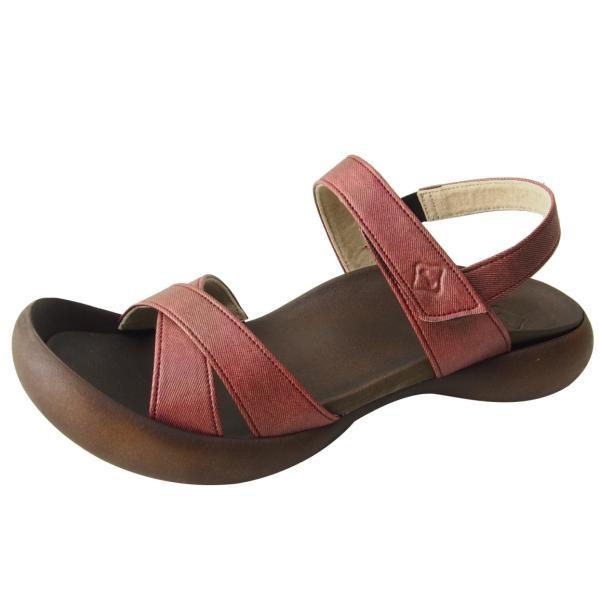 リゲッタカヌー サンダル レディース 履きやすい ぺたんこ おしゃれ デニム 調 ベルクロ sandal|gjweb|13