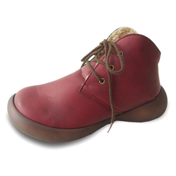 ブーツ レディース リゲッタカヌー ボア ショートブーツ 防滑 プレミアム セール SALE|gjweb|24