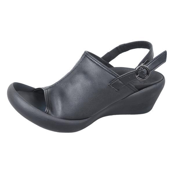 リゲッタカヌー サボ サンダル レディース ウェッジソール おしゃれ ストレッチ sabot sandal gjweb 17