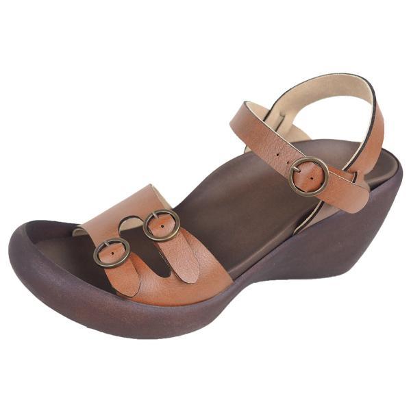 リゲッタ カヌー サンダル レディース ウェッジソール サンダル 厚底 ハイウェッジ ストラップ バックルベルト sandal|gjweb|19