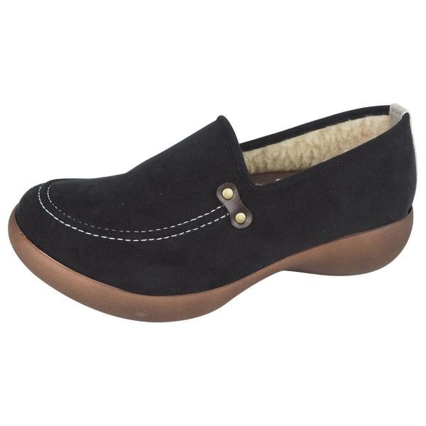 リゲッタ カヌー シューズ レディース モカシン ウェッジソール ボア moccasin shoes|gjweb|16