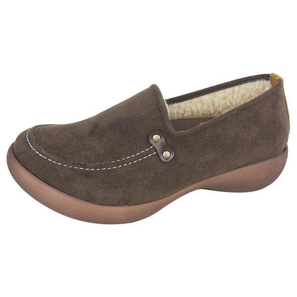 リゲッタ カヌー シューズ レディース モカシン ウェッジソール ボア moccasin shoes|gjweb|18