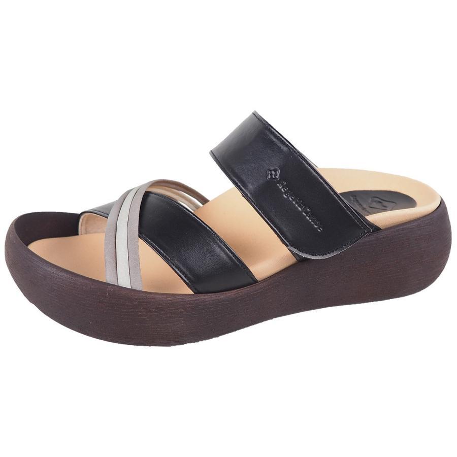 リゲッタ カヌー サンダル レディース  厚底 ウェッジソール クロス ベルト つっかけ 安定 履きやすい sandal 母の日 2021 プレゼント ギフト|gjweb|18