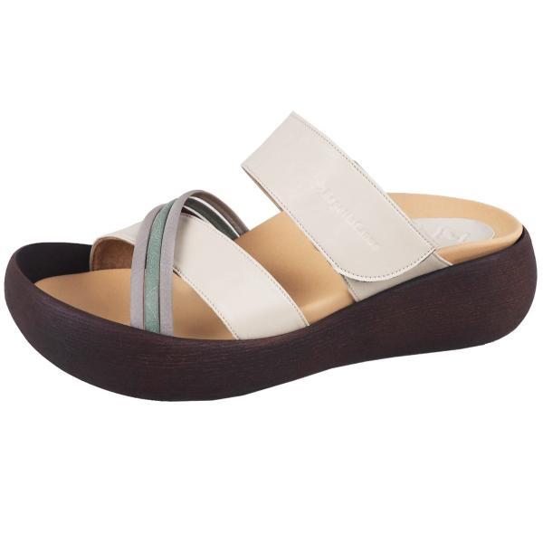 リゲッタ カヌー サンダル レディース  厚底 ウェッジソール クロス ベルト つっかけ 安定 履きやすい sandal gjweb 19