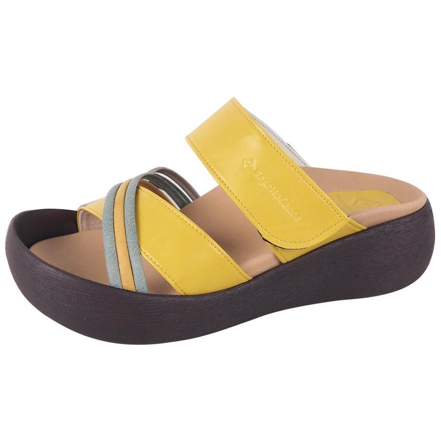 リゲッタ カヌー サンダル レディース  厚底 ウェッジソール クロス ベルト つっかけ 安定 履きやすい sandal 母の日 2021 プレゼント ギフト|gjweb|21