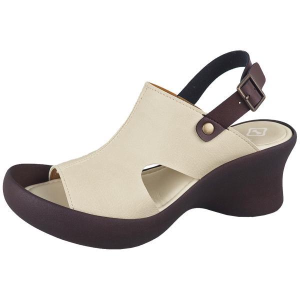リゲッタ カヌー サンダル レディース 厚底 ウェッジソール 履きやすい オープントゥ ストラップ sandal gjweb 20