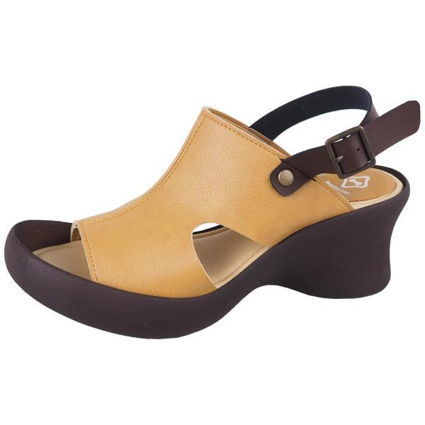 リゲッタ カヌー サンダル レディース 厚底 ウェッジソール 履きやすい オープントゥ ストラップ sandal gjweb 21