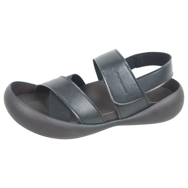 リゲッタ カヌー メンズ サンダル かかと ストラップ クロスベルト おしゃれ 歩きやすい マジックテープ sandal gjweb 13
