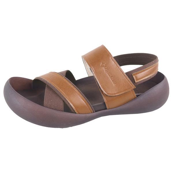 リゲッタ カヌー メンズ サンダル かかと ストラップ クロスベルト おしゃれ 歩きやすい マジックテープ sandal gjweb 14