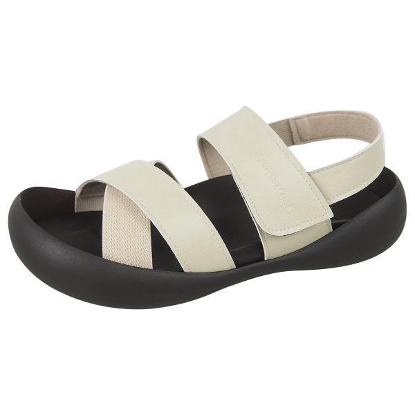 リゲッタ カヌー メンズ サンダル かかと ストラップ クロスベルト おしゃれ 歩きやすい マジックテープ sandal gjweb 15