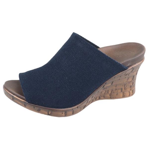 リゲッタ サンダル レディース ウェッジソール コンフォート 厚底 ヒール リゾート ミュール sandal|gjweb|20