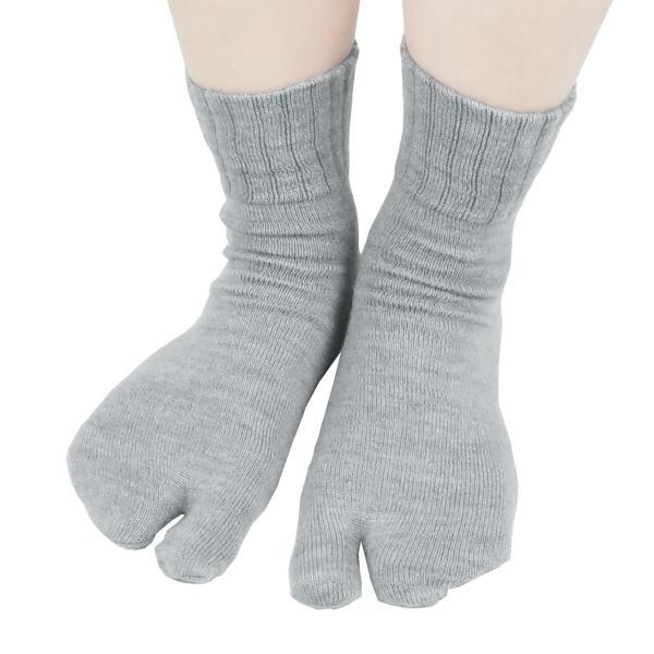 足袋靴下 レディース 足袋 ソックス ウール混 冷え症 保温 足指 健康 日本製 socks gjweb 12