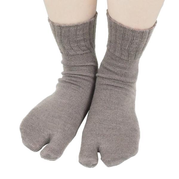 足袋靴下 レディース 足袋 ソックス ウール混 冷え症 保温 足指 健康 日本製 socks gjweb 11