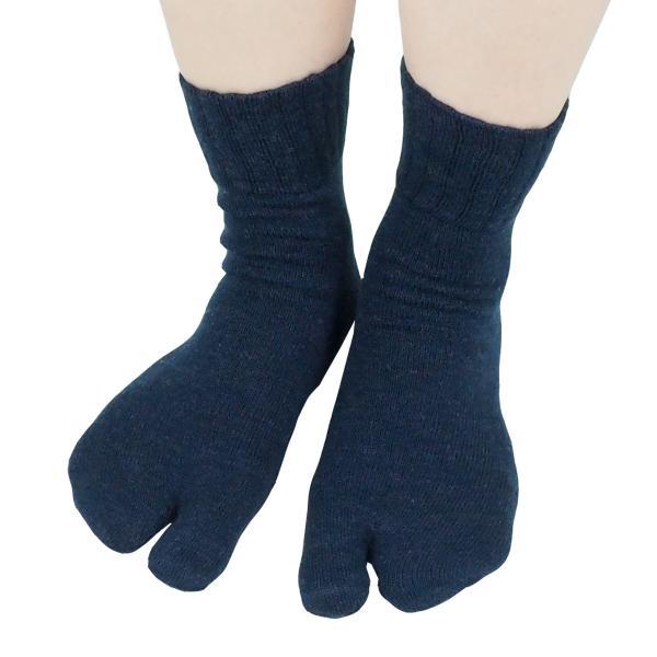 足袋靴下 レディース 足袋 ソックス ウール混 冷え症 保温 足指 健康 日本製 socks gjweb 10