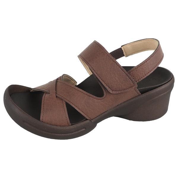 リゲッタ サンダル レディース ウェッジソール ストラップ 幅広 甲高 履きやすい ベルクロ グミ インソール sandal|gjweb|26