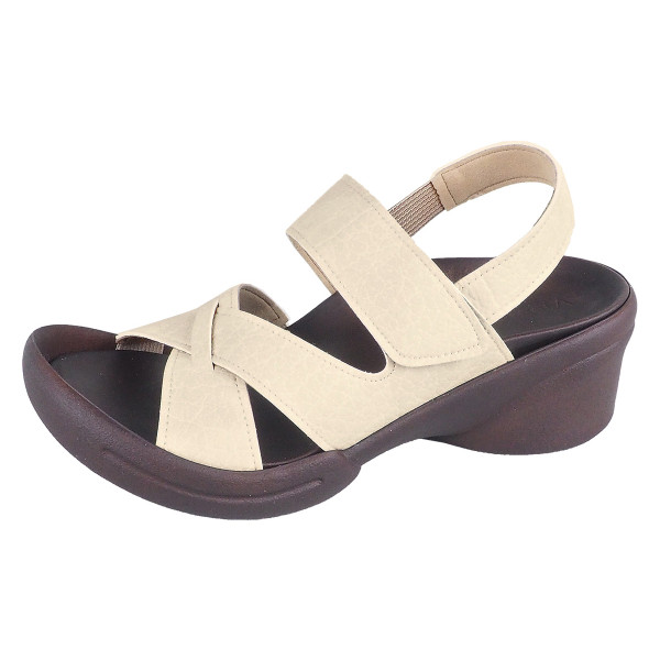 リゲッタ サンダル レディース ウェッジソール ストラップ 幅広 甲高 履きやすい ベルクロ グミ インソール sandal|gjweb|24