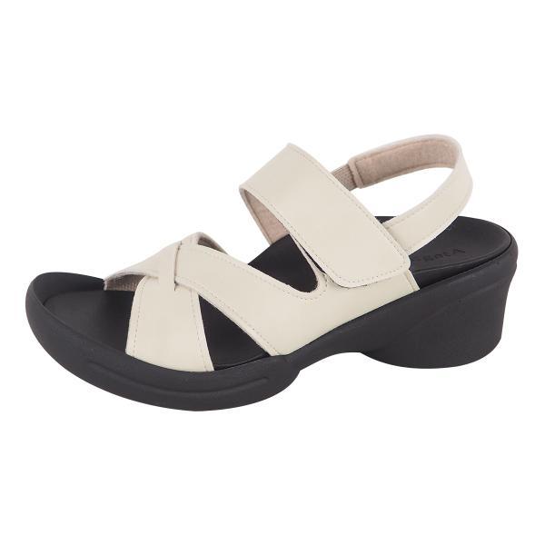 リゲッタ サンダル レディース ウェッジソール ストラップ 幅広 甲高 履きやすい ベルクロ グミ インソール sandal|gjweb|25