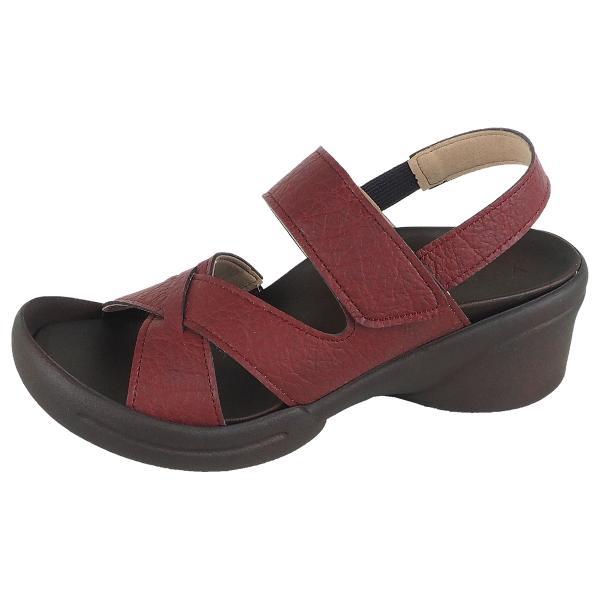 リゲッタ サンダル レディース ウェッジソール ストラップ 幅広 甲高 履きやすい ベルクロ グミ インソール sandal|gjweb|29