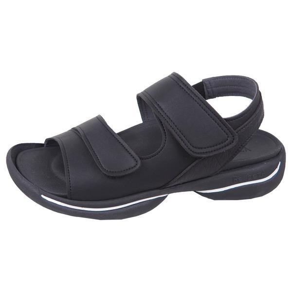 リゲッタ サンダル レディース オフィス ストラップ 甲高 幅広 履きやすい ベルクロ 防滑 グミ インソール sandal gjweb 19