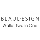 BLAUDESIGN Wallet Two in One