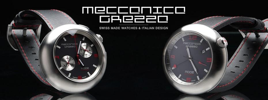 イタリアンデザインウォッチ MECCANICA GREZZA(メカニカ・グレッザ)腕時計