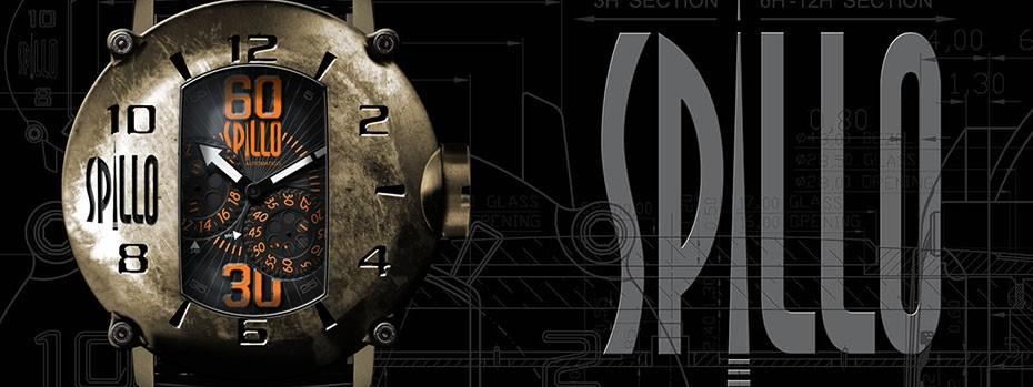 バイカーのためのイタリアの時計ブランド SPILLO(スピーロ)腕時計