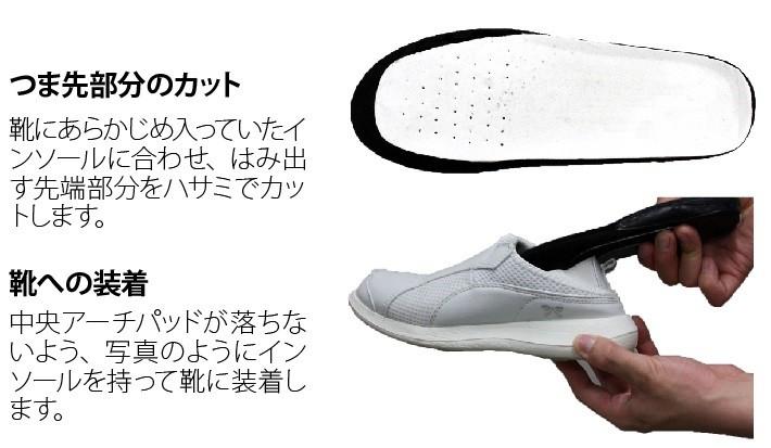 靴への装着方法