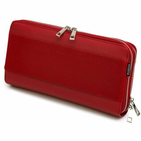 クラッチバッグ オーガナイザー インバッグ レディース PU レザー 革 合皮 無地 パスポート入れ 財布 オフィスカジュアル ビジカジ 旅行 鞄 カバン バッグ|glabella|19