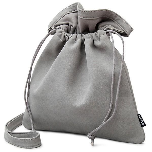【送料無料】 巾着バッグ メンズ レディース 巾着 ショルダーバッグ 2way 肩掛け ミニバッグ バッグ スムース ヌバック カバン 鞄 シンプル glabella 22