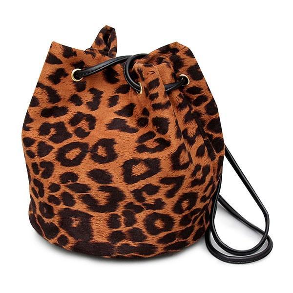 ショルダーバッグ 巾着バッグ 手提げバッグ レディース サブバッグ 巾着 ヒョウ柄 豹柄 レオパード 2way 肩掛け glabella 14
