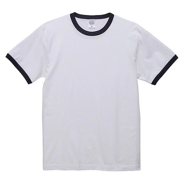 Tシャツ 半袖 無地 リンガーTシャツ バインダーネック メンズ 黒 白 ブラック ホワイト ユナイテッドアスレ 5.6oz 丸胴 シンプル|glabella|17