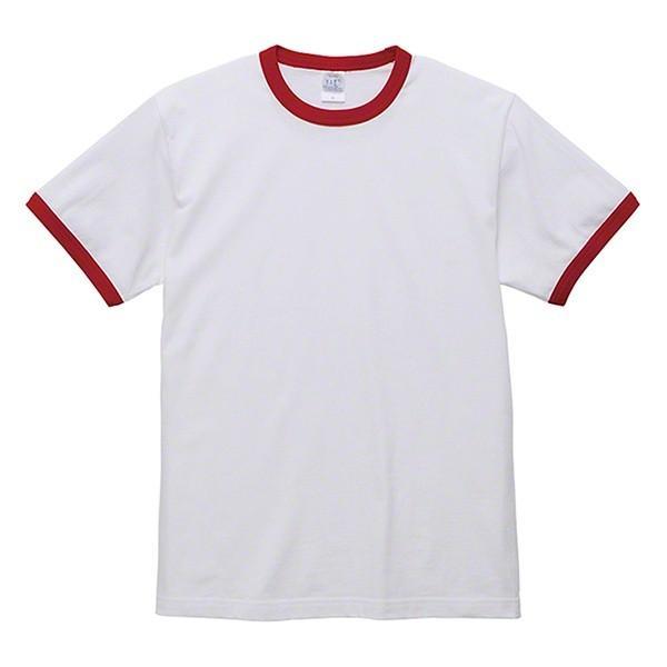 Tシャツ 半袖 無地 リンガーTシャツ バインダーネック メンズ 黒 白 ブラック ホワイト ユナイテッドアスレ 5.6oz 丸胴 シンプル|glabella|18