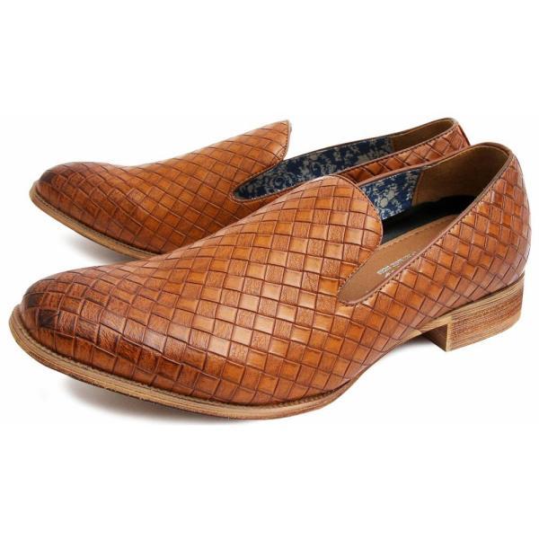 オペラシューズ メンズ スリッポン ローファー 靴|glabella|15