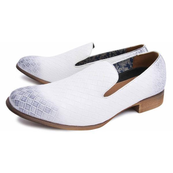 オペラシューズ メンズ スリッポン ローファー 靴|glabella|14