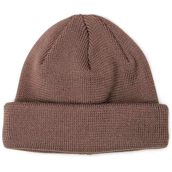 ニット帽 ニットキャップ 帽子 ニットワッチキャップ ニットワッチ 日本製 ブラック グレー 黒 茶 紫 シンプル 無地 国産|glabella|22