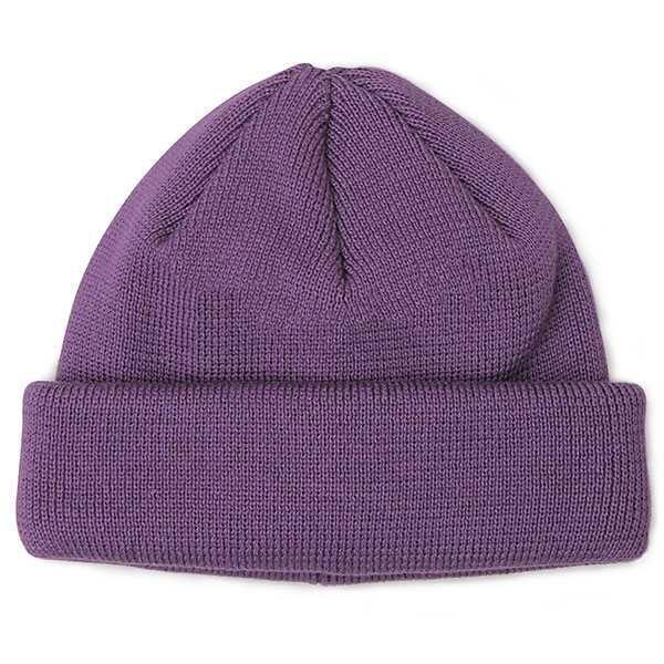 ニット帽 ニットキャップ 帽子 ニットワッチキャップ ニットワッチ 日本製 ブラック グレー 黒 茶 紫 シンプル 無地 国産|glabella|25