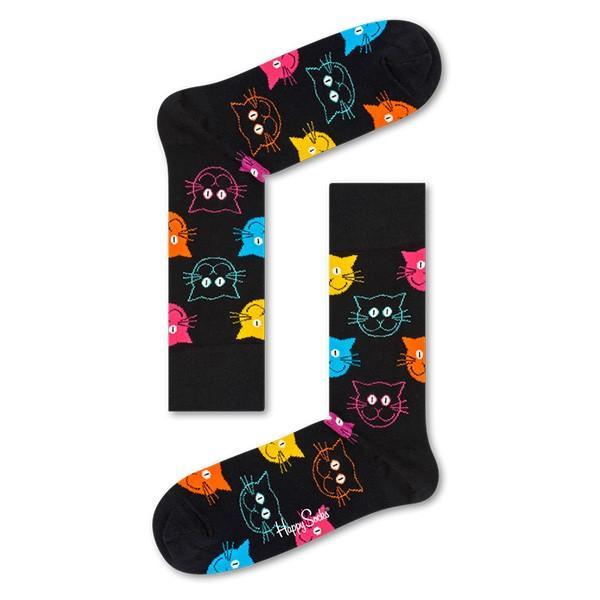 Happy Socks ハッピーソックス CAT ( キャット ) クルー丈 綿混 ソックス 靴下 ユニセックス メンズ&レディス 1A113039 glanage 09